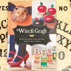 Witch Craft Hardcover Halloween Crafting Book